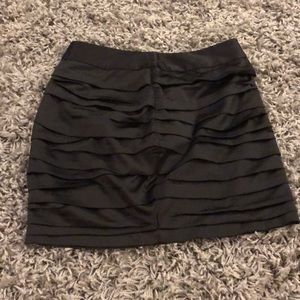 Black skirt from express